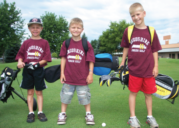 Members of our St. Cloud Golf Club Junior League